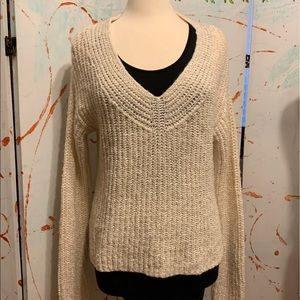 A new day NWT pull over cardigan V neck